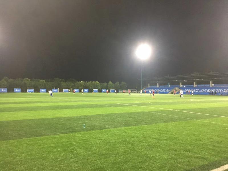 建桥体育新的足球训练基地
