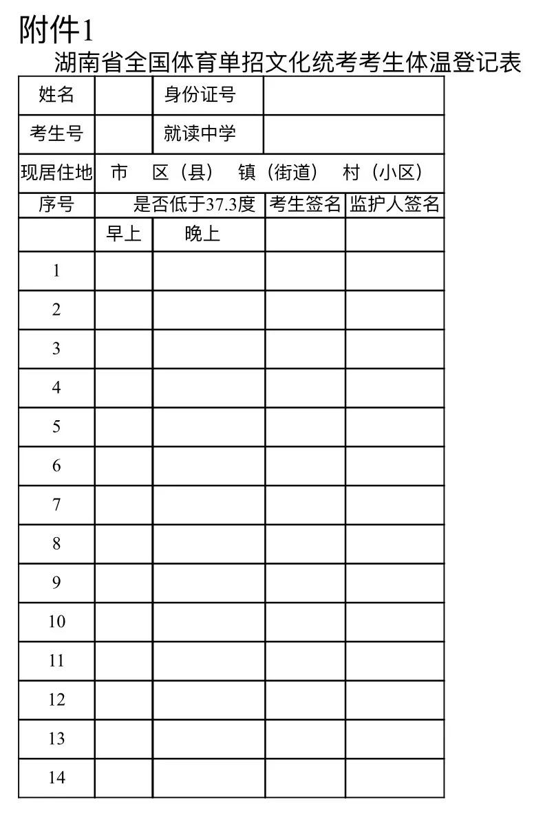 建桥体育_2020年湖南体育单招考试时间